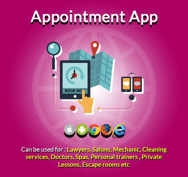 Android Appointments Booking App Online thrissur kerala