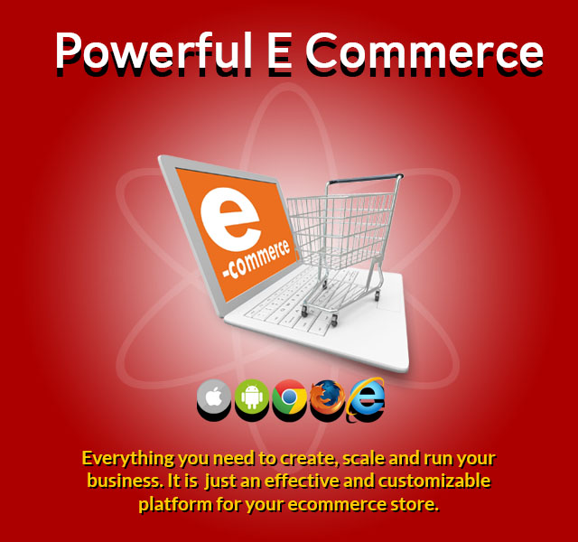 ecommerce shopping website android app thrissur kerala